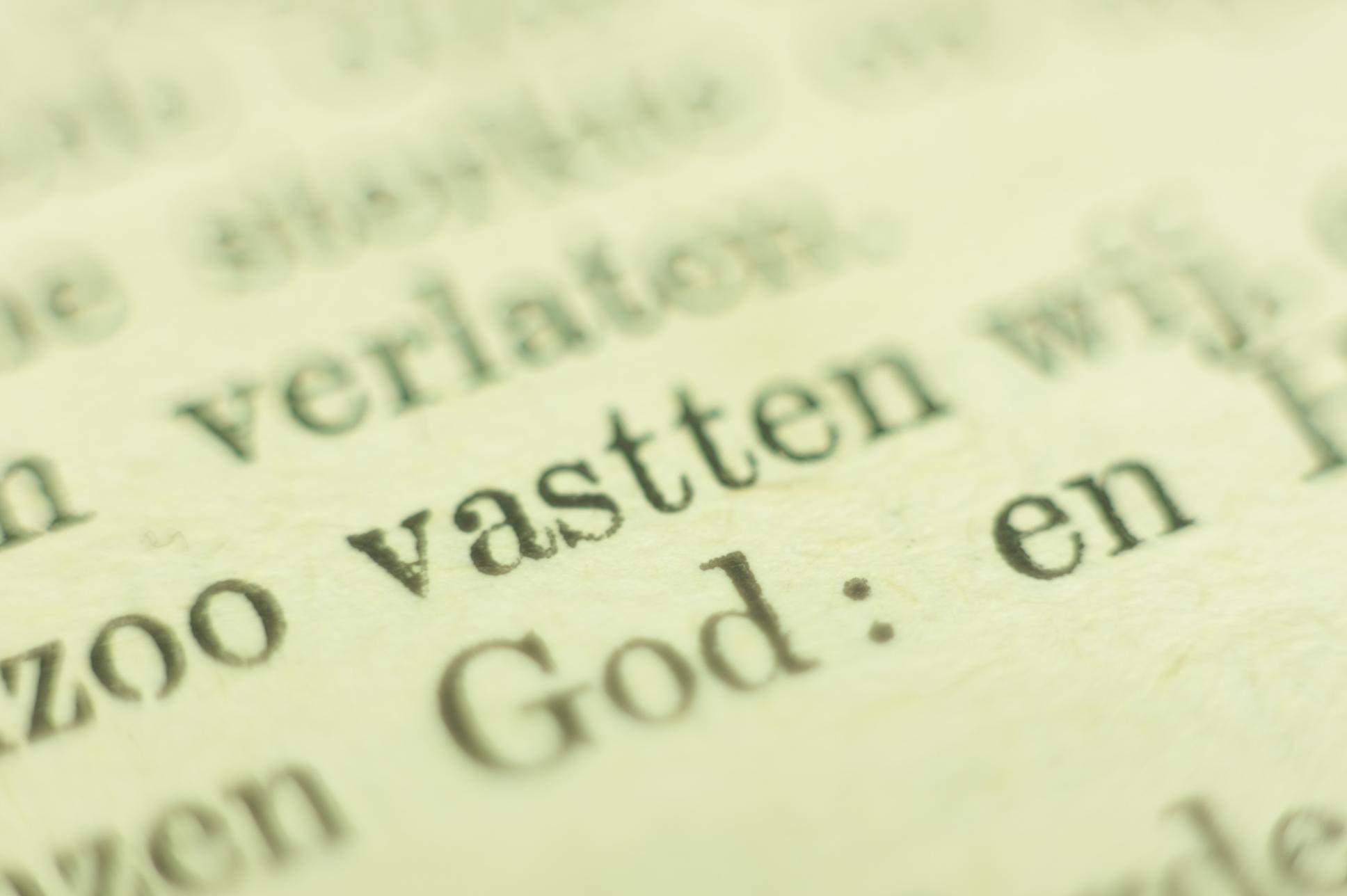 Vasten in de Bijbel